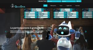 gameover site sito robot game